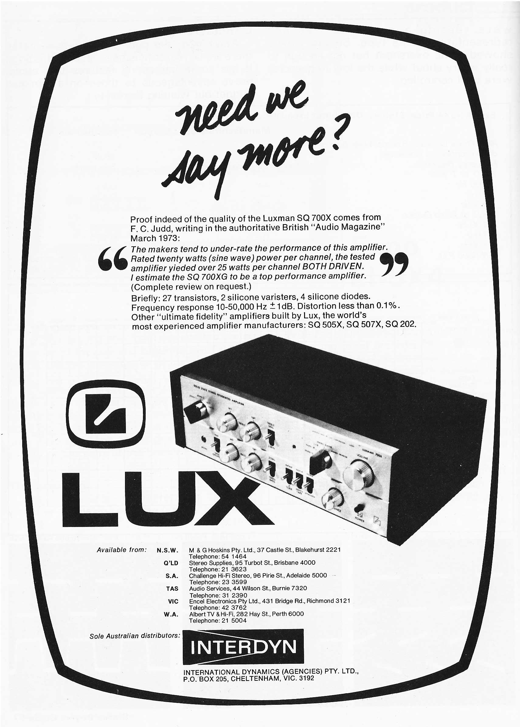ads madagascar Kenwood Home Stereo Speakers interdyn luxman sq 700x